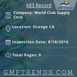 World Club Supply Corp.