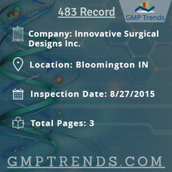Innovative Surgical Designs Inc.