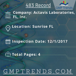 Actavis Laboratories, FL, Inc.