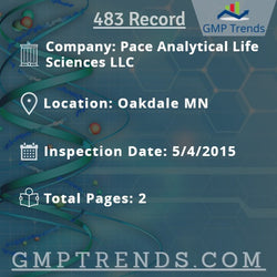 Pace Analytical Life Sciences LLC