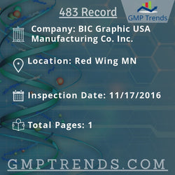 BIC Graphic USA Manufacturing Co. Inc.