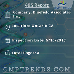 Bluefield Associates Inc.