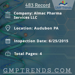 Almac Pharma Services LLC