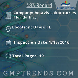 Actavis Laboratories Florida Inc.