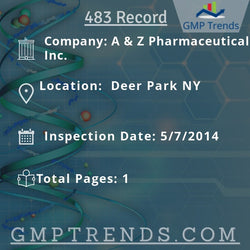 A & Z Pharmaceutical Inc.