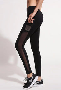 City Slicker High Waist Workout Pants with Side Pocket - FREE SHIPPING