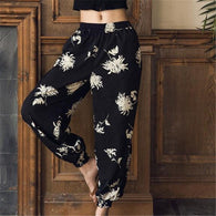 Apparel - The Heather - Bohemian Floral Lounge Pants - FREE SHIPPING