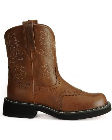 Ariat Womens Fatbaby Scalloped Western Boot