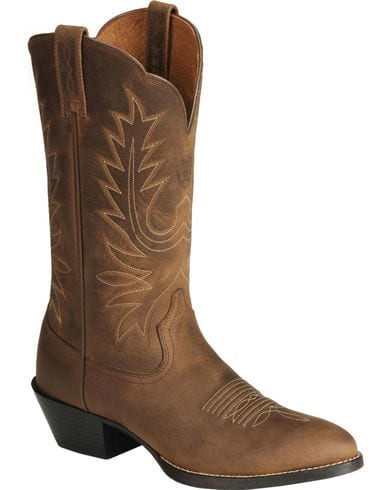 Ariat Womens Heritage R Toe Western Boot