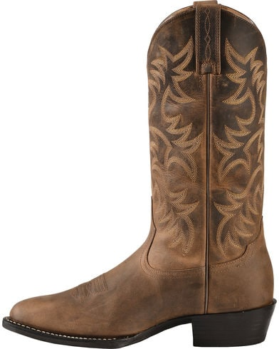 Ariat Mens Heritage Brown Western Boot