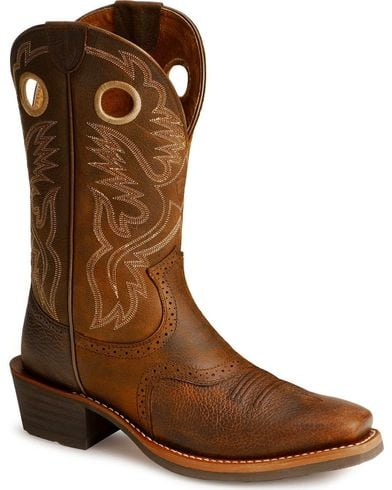 Ariat Mens Heritage Roughstock Cowboy Boots