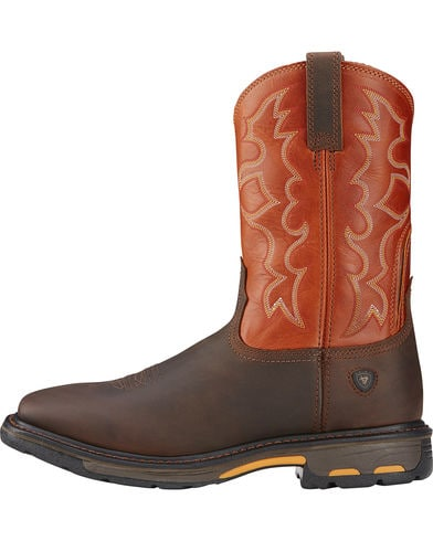 Ariat Men's Workhog Square Toe Western Workboot