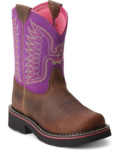 Ariat Girls Fatbaby Thunderbird Western Boot
