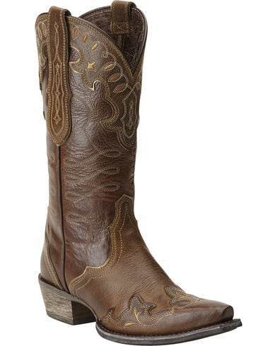 Ariat Womens Zealous Wingtip Western Boot