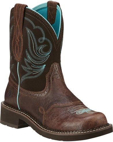 Ariat Womens Fatbaby Heritage Dapper Western Boot