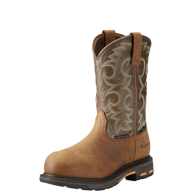 Ariat Women's WorkHog Waterproof Composite Toe Work Boot