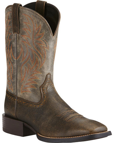 Ariat Men's Brooklyn Square Toe Western Boot