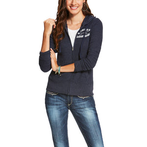 Ariat Women's Bezel Full Zip Hoodie