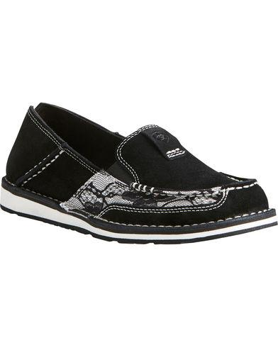 Ariat Women's Black Lace Cruiser Shoes
