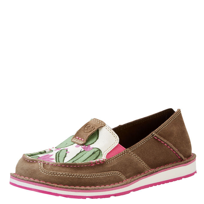 Ariat Women's Cactus Flower Slip On Cruiser Shoes