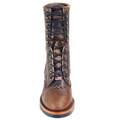 Chippewa Men's Crazy Horse Packer Western Boot