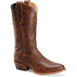 Double H Men's Cattle Baron Tan Goat Western Boot