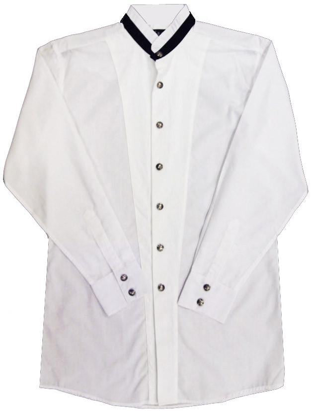 White Horse Men's Modified Tux L/S Shirt - Big Sizes