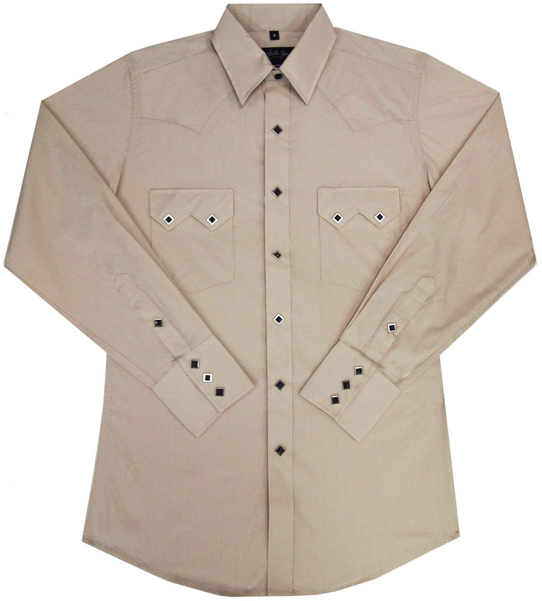 White Horse Mens Sawtooth L/S Western Shirt
