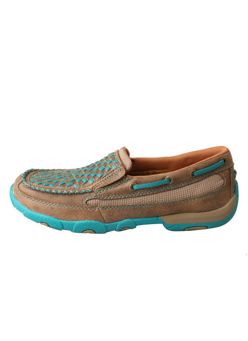 Twisted X Women's Slip-on Driving Moccasin