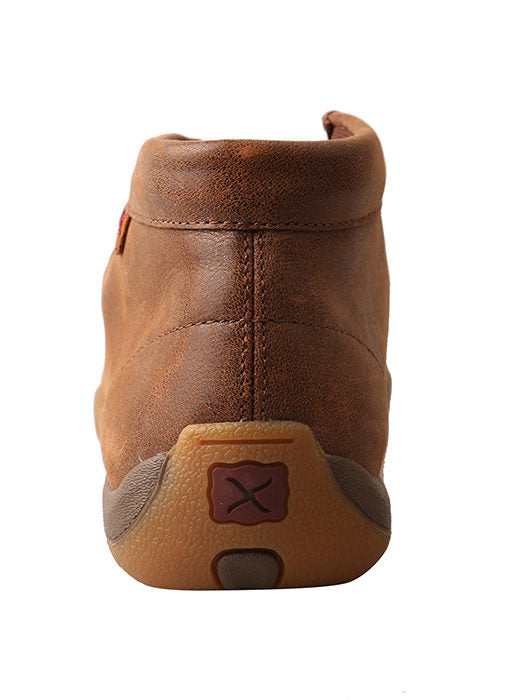 Twisted X Women's Brown Driving Moc Shoes - Moc Toe