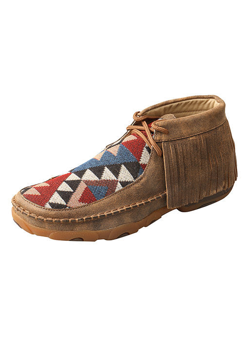 Twisted X Women's Fringe Driving Moccasins