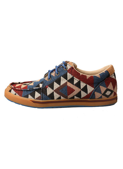 Twisted X Women's Hooey Lopers - Graphic Pattern Canvas