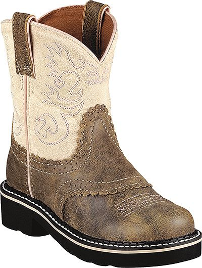 Ariat Youth Fatbaby Western Bomber Boot