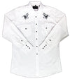 White Horse Boys Embroidered Western Shirt