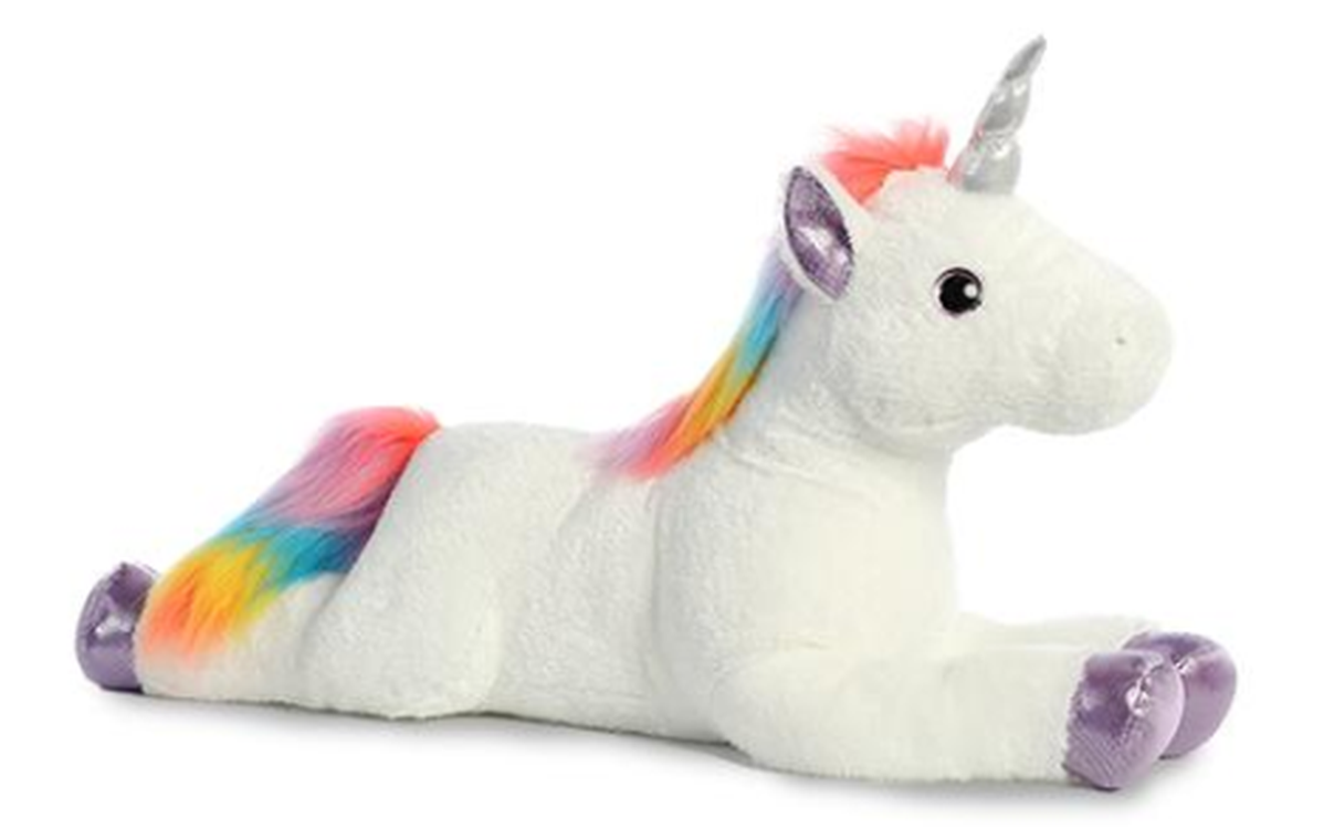Aurora Super Flopsie Rainbow Unicorn - 27""