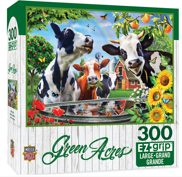 "Master Piece ""Moo Love"" Jigsaw Puzzle"