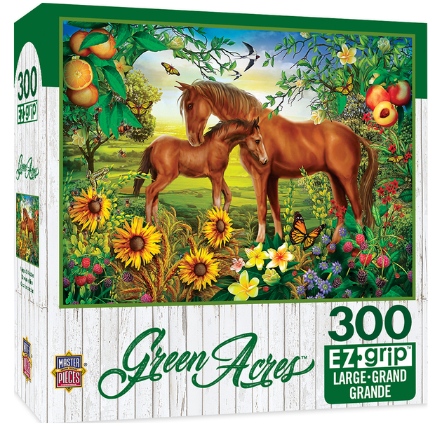 "Master Piece ""Neighs & Nuzzles"" Jigsaw Puzzle"