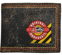Justin Original Workboots Black Bifold Wallet