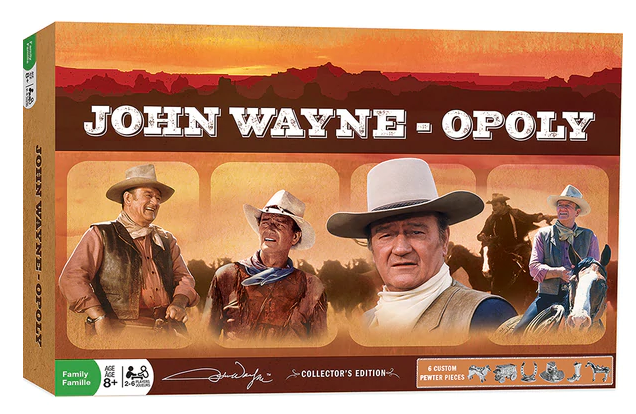 Master Pieces John Wayne Opoly Board Game
