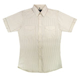 White Horse Mens Stripe Western Shirt