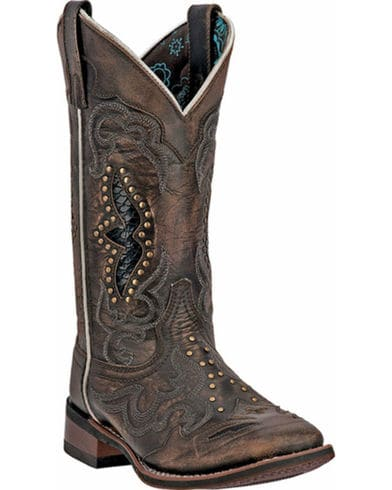 Laredo Womens Spellbound Square Toe Western Boot
