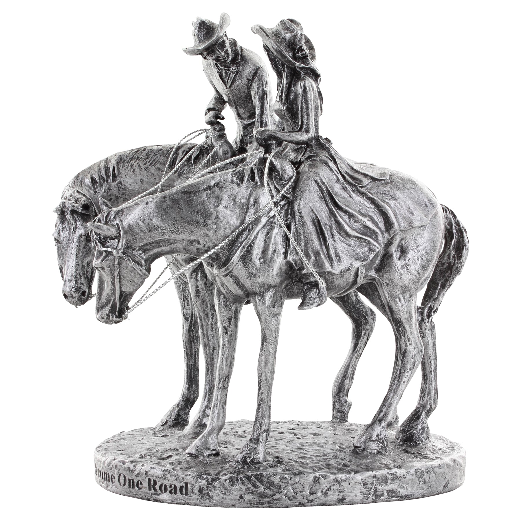 "Montana Silversmiths ""Two Trails Become One"" Cake Topper"