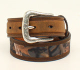 Ariat Boys Camoflauge Center Leather Belt