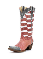 Corral Women's American Flag Western Boot