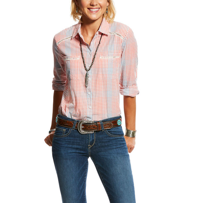 Ariat Women's Canyon Plaid Western Shirt