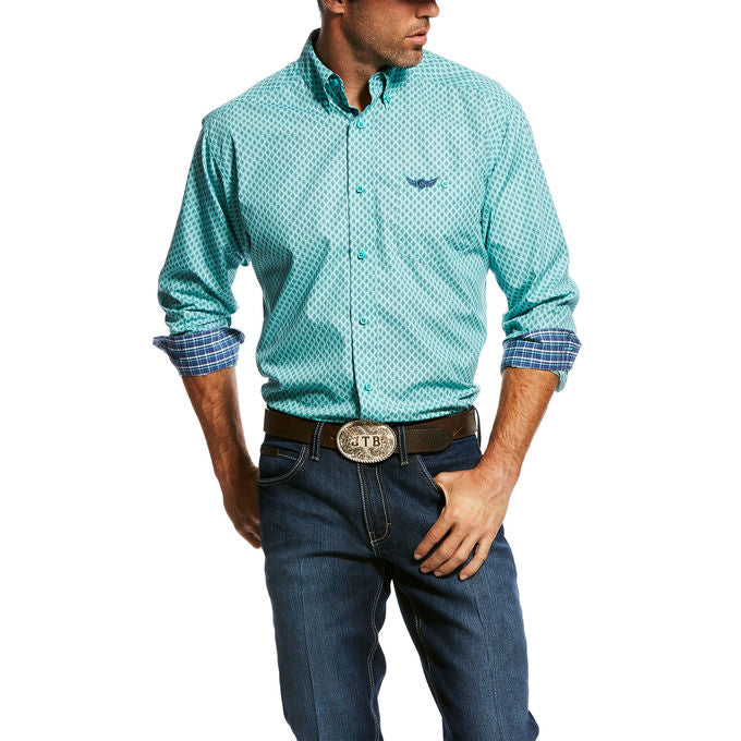 Ariat Men's Relentless Devotion Print Longsleeve Western Shirt