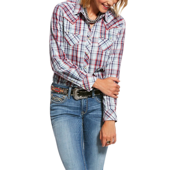 Ariat Women's REAL Vibrant Long Sleeve Western Shirt