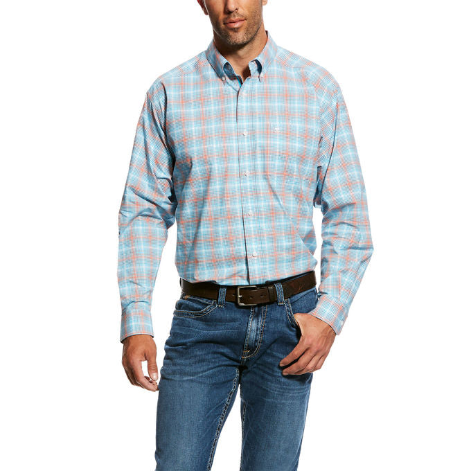 Ariat Men's Naragon Plaid Western Shirt