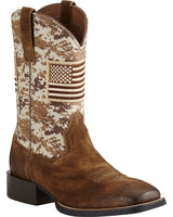Ariat Men's Camo Patriot Western Boot