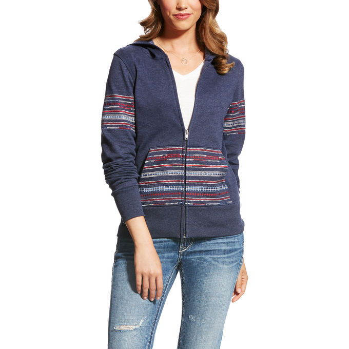 Ariat Women's Lynette Full Zip Hoodie